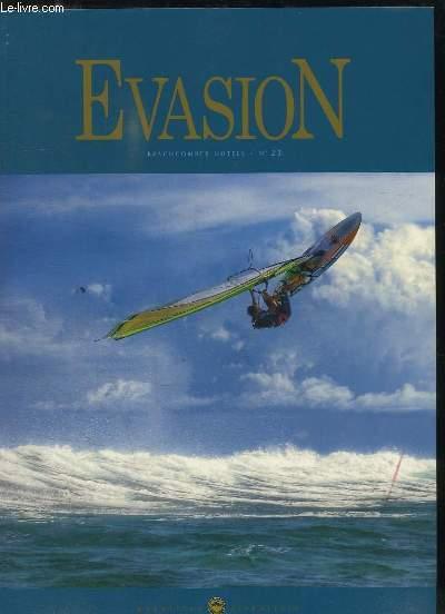EVASION N° 23. AVRIL 2009. TEXTE ANGLAIS ET FRANCAIS.