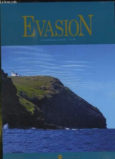 EVASION N° 21. SEPTEMBRE 2008. TEXTE EN ANGLAIS ET EN FRANCAIS.