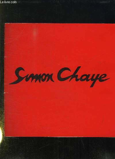 SIMON CHAYE TAPISSERIES.