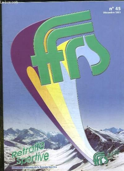 FFRS N° 45 DECEMBRE 2004. RETRAITE SPORTIVE.