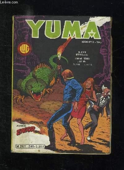 YUMA N° 249 JUILLET 1983.ZAGOR TRAHISON.