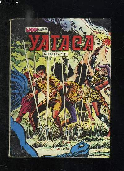 YATACA N° 155. LA SAVANE SAUVAGE.