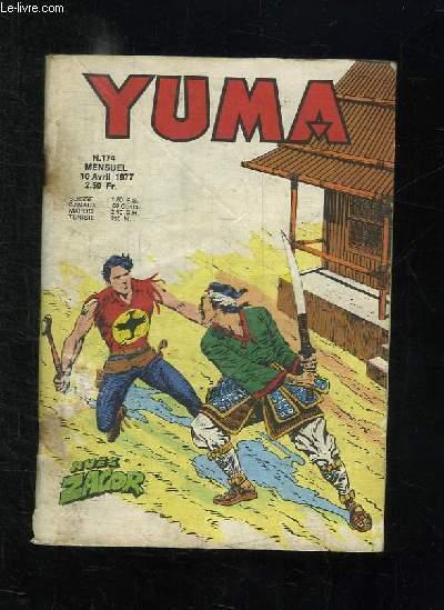 YUMA N° 174. ZAGOR DRAME A STONEVILLE.
