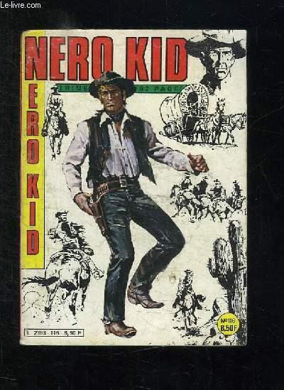 NERO KID N° 116 AVRIL 1984. LA RECOMPENSE.