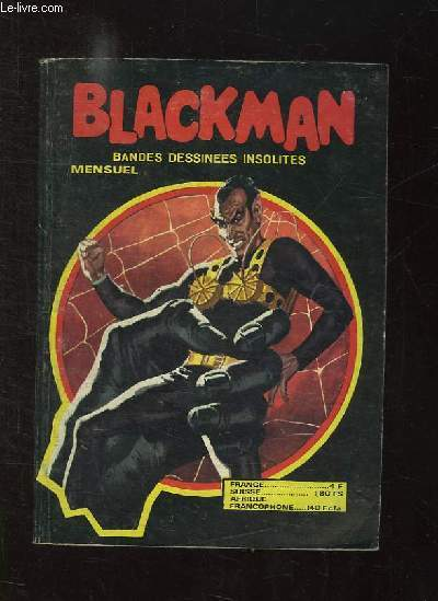 BLACKMAN N° 203. LE DEFI DU DR ARGO.