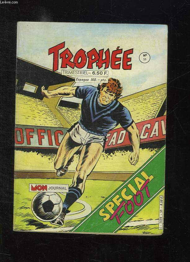 TROPHEE N° 59. HAMISH LA BETE NOIR.
