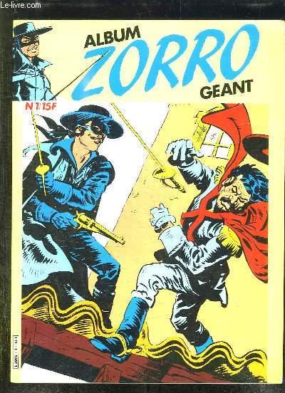 ALBUM ZORRO GEANT N° 1.