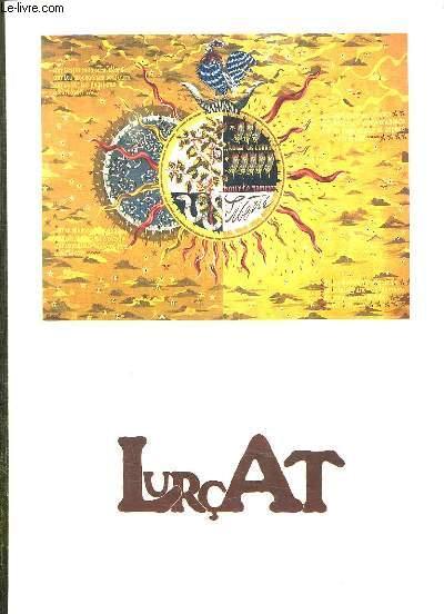 LURCAT. EXPOSITION PRESENTEE AU CHATEAU MARGAUT DU 13 SEPTEMBRE AU 3 NOVEMBRE 1985.