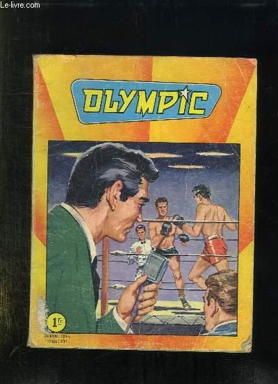 OLYMPIC ALBUM N° 591. N° 36 - 37 - 38.