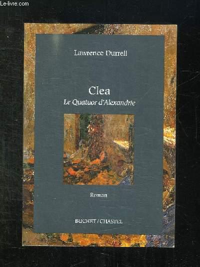 CLEA. LE QUATUOR D ALEXANDRIE.