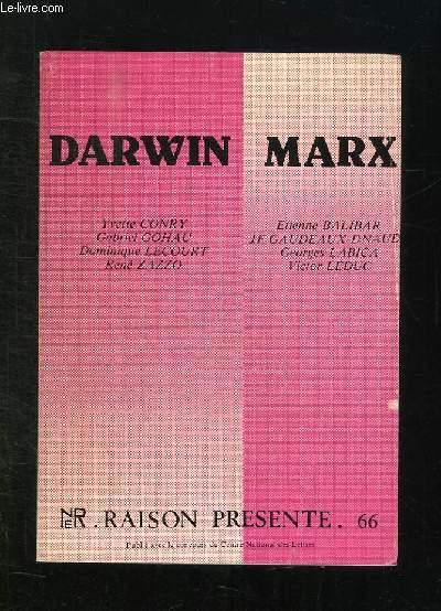 RAISON PRESENTE N° 66. DARWIN MARX.