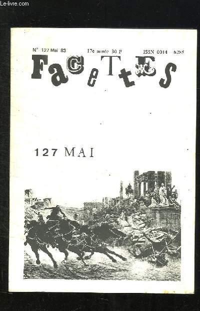FACETES N° 127 MAI 1983.