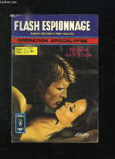 FLASH ESPIONNAGE N° 81. OPERATION APOCALYPSE.