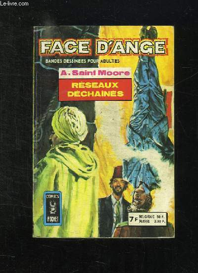 FACE D ANGE N° 3169. RESEAU DECHAINES. BANDE DESSINEE POUR ADULTES.