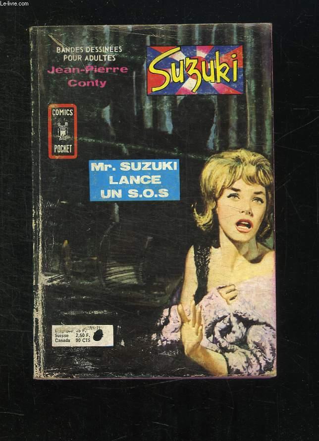 SUZUKI N° 11. LANCE UN SOS. BANDE DESSINEE POUR ADULTES.