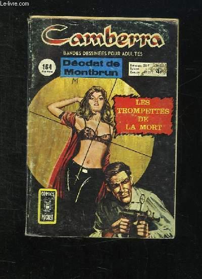 CAMBERRA N° 7. LES TROMPETTES DE LA MORT. BANDE DESSINEE POUR ADULTES.