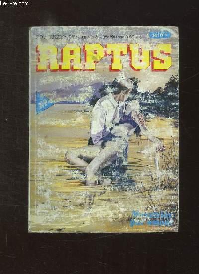 RAPTUS N° 5. MEURTRIER PAR AMOUR. BANDE DESSINEE POUR ADULTES.