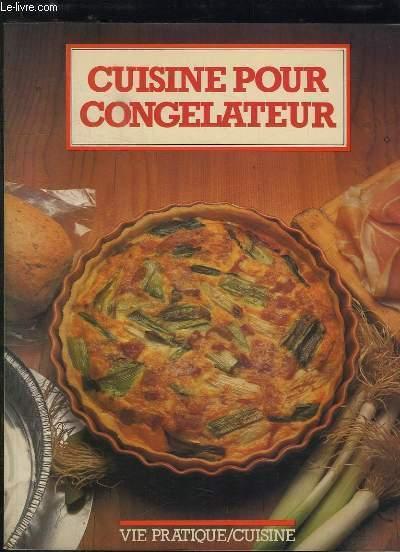 CUISINE POUR CONGELATEUR.