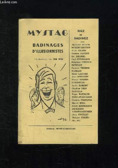 MYSTAG. BADINAGES D ILLUSIONNISTES.