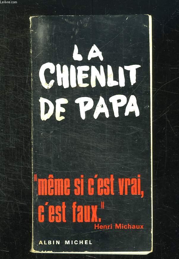 LE CHIENLIT DE PAPA.