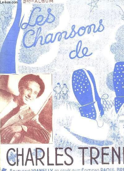LES CHANSONS DE CHARLES TRENET. 2em ALBUM.