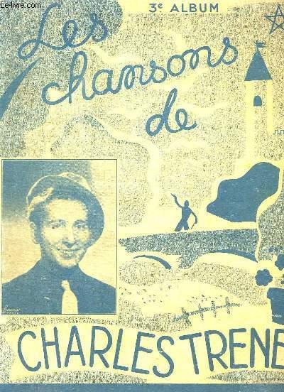 LES CHANSONS DE CHARLES TRENET. 3em ALBUM.