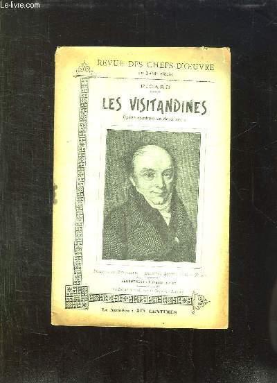 REVUE DES CHEFS D OEUVRE DU XVIII N° 20. PICARD: LES VISITANDINES. OPERA COMIQUE EN DEUX ACTES.