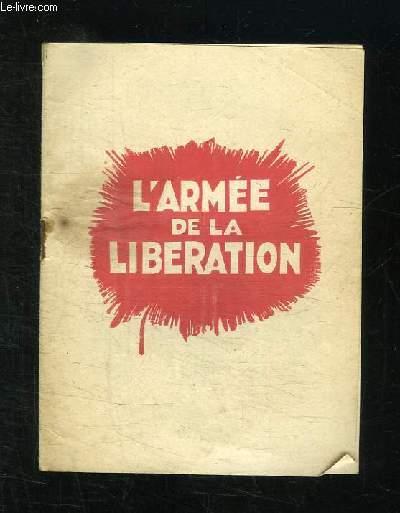 L ARMEE DE LA LIBERATION.