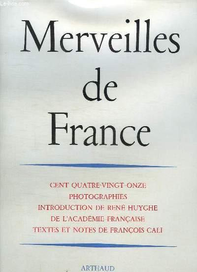 MERVEILLES DE FRANCE.