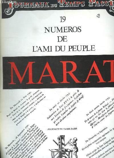 JOURNAUX DU TEMPS PASSE. 19 NUMEROS DE L AMI DU PEUPLE.