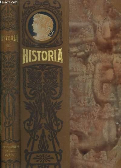 HISTORIA TOME VIII. FAC SIMILES DU N° 57 A 64.