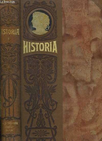 HISTORIA TOME X. FACS SIMILES DU N° 73 AU N° 84.