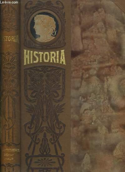 HISTORIA TOME IV. FACS SIMILES DU N° 25 AU N° 32.