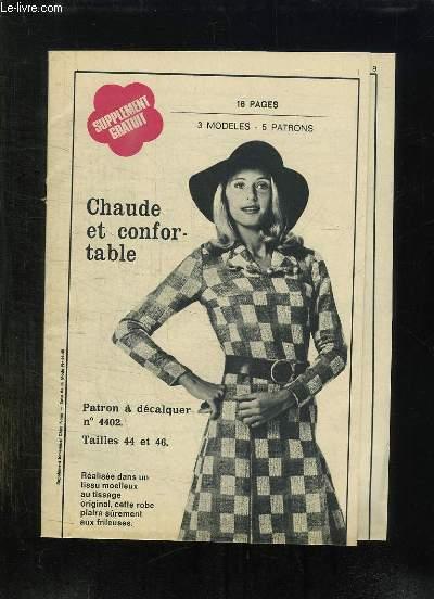 SUPPLEMENT CHEZ NOUS ECHO DE LA MODE N° 44 - 45.