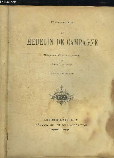 LE MEDECIN DE CAMPAGNE.