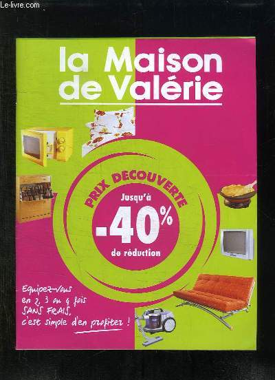 catalogue la maison de valerie collectif. Black Bedroom Furniture Sets. Home Design Ideas