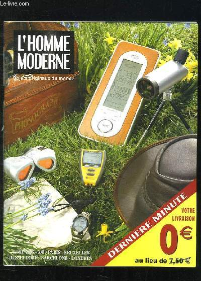 CATALOGUE L HOMME MODERNE N° AVRIL 2005.