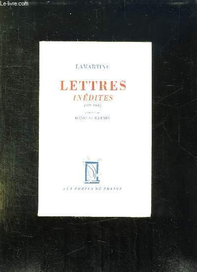 LETTRES INEDITES 1821 - 1851.