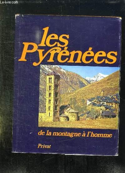 LES PYRENEES DE LA MONTAGNE A L HOMME.