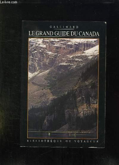 LE GRAND GUIDE DU CANADA.