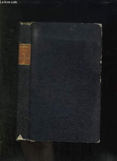 ESSAI SUR L HISTOIRE DE LA PHILOSOPHIE EN FRANCE AU XIX SIECLE. TOME 1. 3em EDITION.