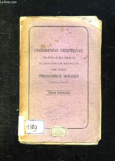 PHILOSOPHIA MORALIS AVCTORE NVNTIO SIGNORIELLO. TEXTE EN LATIN.