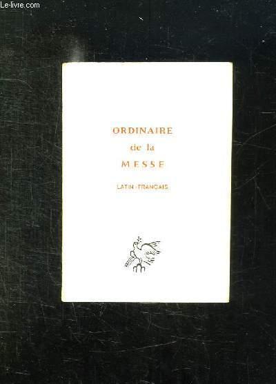 DISCOURS DU PAPE ET CHRONIQUE ROMAINE N° SPECIAL 223 DECEMBRE 1969. ORDINAIRE DE LA MESSE. LATIN FRANCAIS.