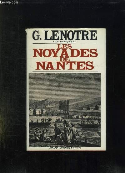 LES NOYADES DE NANTES.