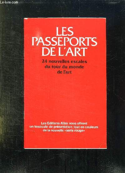 LES PASSEPORTS DE L ART.