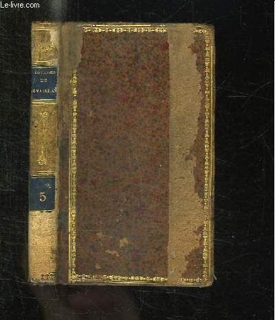 NOUVELLE BIBLIOTHEQUE DES VOYAGES OU CHOIX DES VOYAGES LES PLUS INTERESSANS. LE VAILLANT TOME V.