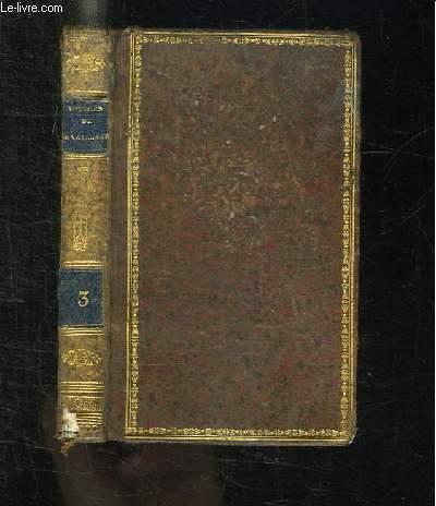 NOUVELLE BIBLIOTHEQUE DES VOYAGES OU CHOIX DES VOYAGES LES PLUS INTERESSANS. LE VAILLANT III.
