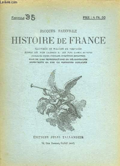 HISTOIRE DE FRANCE FASCICULE N° 35.