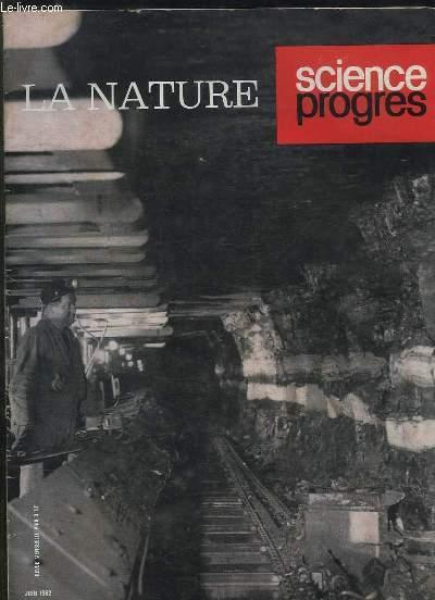 SCIENCE PROGRES N° 3326 JUIN 1962. SOMMAIRE: L HEREDITE NON CHROMOSOMIQUE, LES CONVERTISEURS THERMO ELECTRONIQUES...