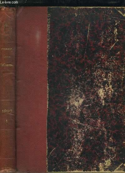 LE JOURNAL DE LA JEUNESSE. NOUVEAU RECUEIL HEBDOMADAIRE ILLUSTREE 1897 PREMIER SEMESTRE.